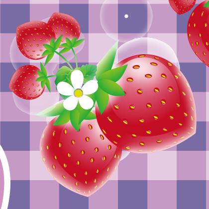 イラストレーターで描けるいちごのイラストの手順書 Alicemix