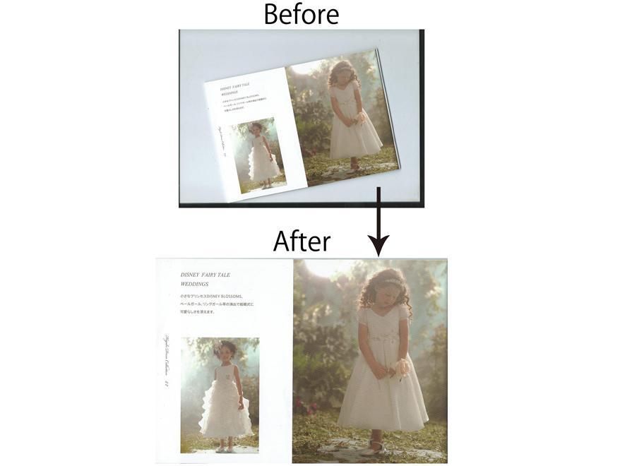 フォトショで簡単に傾いた画像をまっすぐにする方法。